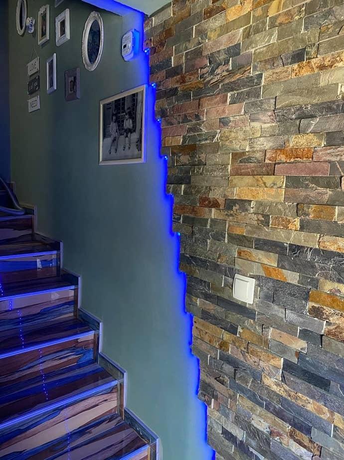 stopnišče savana